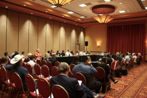 Advocacy staff listen to small businesses' concerns at the Regional Regulatory Reform Roundtable in Phoenix, AZ.